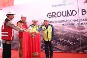 Gubernur Olly Optimis Proyek Bandara Sam Ratulangi Selesai Oktober 2020