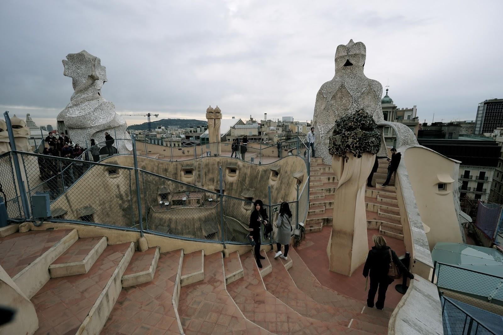 カサ・ミラ(Casa Milà) 屋上