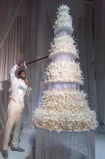 Keyshia Ka'Oir Gucci Mane Wedding Cake