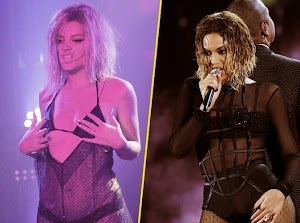 Lily Allen: she mocks Beyoncé on stage! [video]