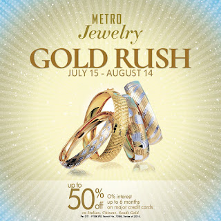 The Metro Jewelry GOLD RUSH, sale