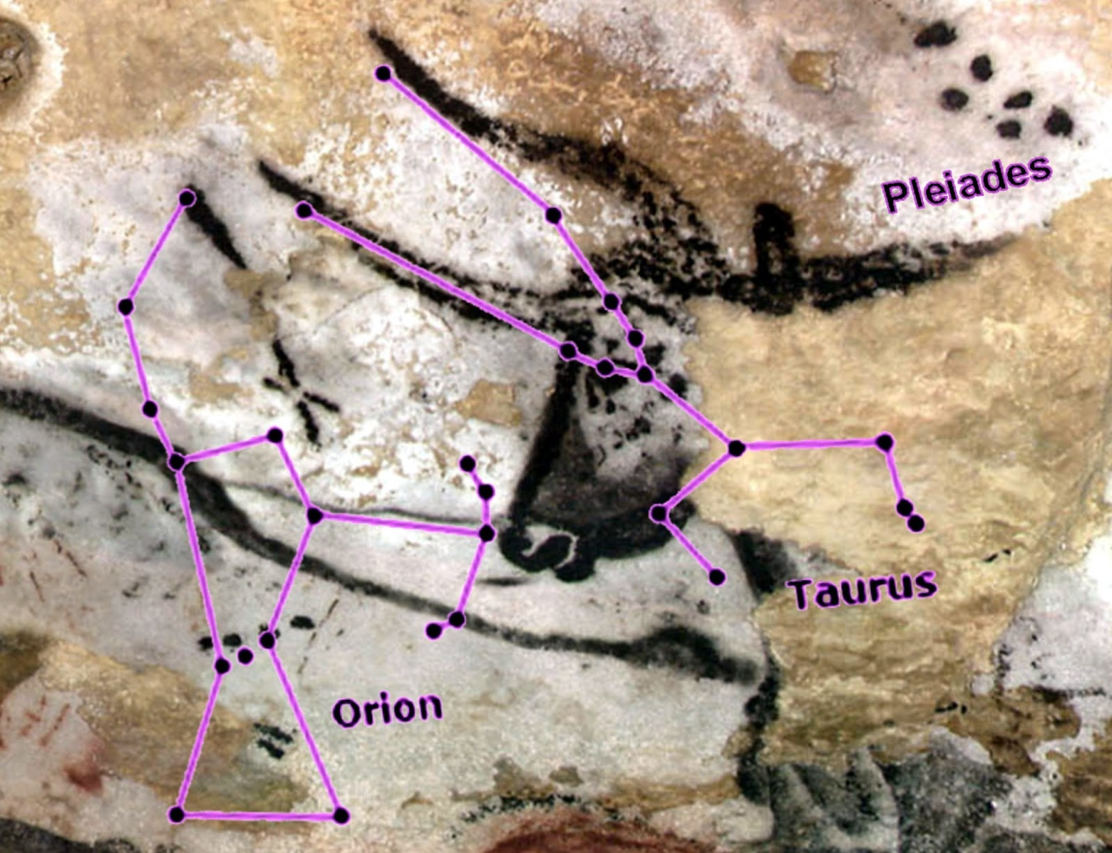 are lascaux cave paintings encoded paleolithic star charts