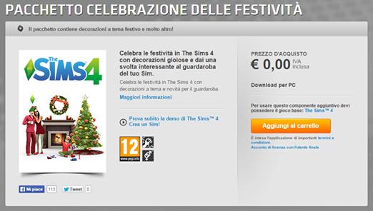 Addobbi Natalizi The Sims 3.Tutte Le Novita Su The Sims 4 2014