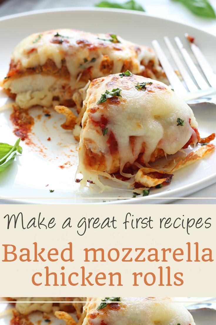 Baked mozzarella chicken rolls | chicken recipes, crock pot recipes, chicken breast recipes, easy chicken recipes, soup recipes, chili recipe, chicken casserole, slow cooker recipes, chicken salad recipe, meatloaf recipe, chicken thigh recipes, chicken casserole recipes, chicken curry recipe, chicken soup recipe, chicken dishes, baked chicken recipes, baked chicken, healthy chicken recipes, lasagna recipe, chicken recipes for dinner, rice recipes, butter chicken recipe, casserole recipes. #baked #mozzarella #chicken #rolls