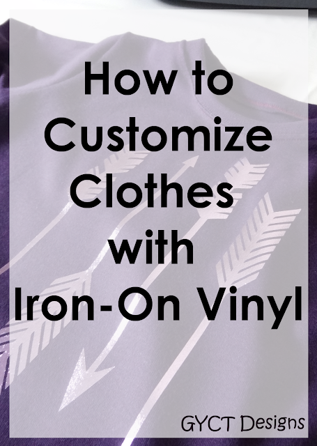 How to Add Iron-On Vinyl to T-shirts