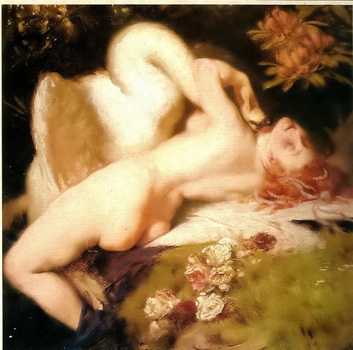 Image result for leda and the swan