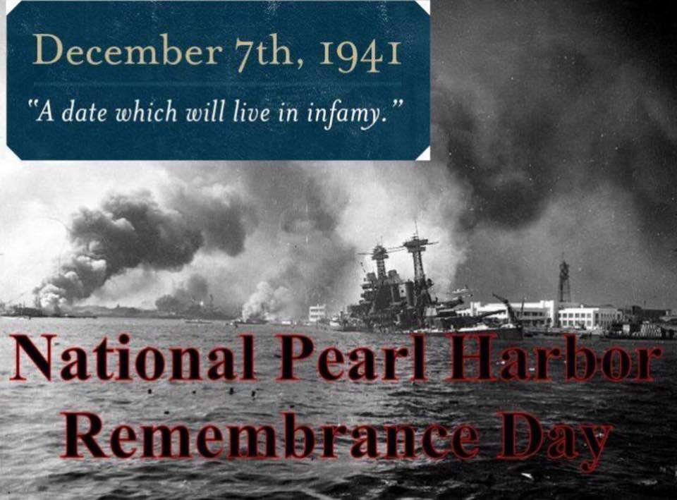 National Pearl Harbor Day of Remembrance Wishes Unique Image
