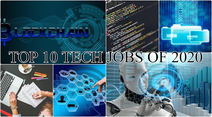 Top 10 Best-Paid tech jobs of 2020: Best tech jobs for this decade
