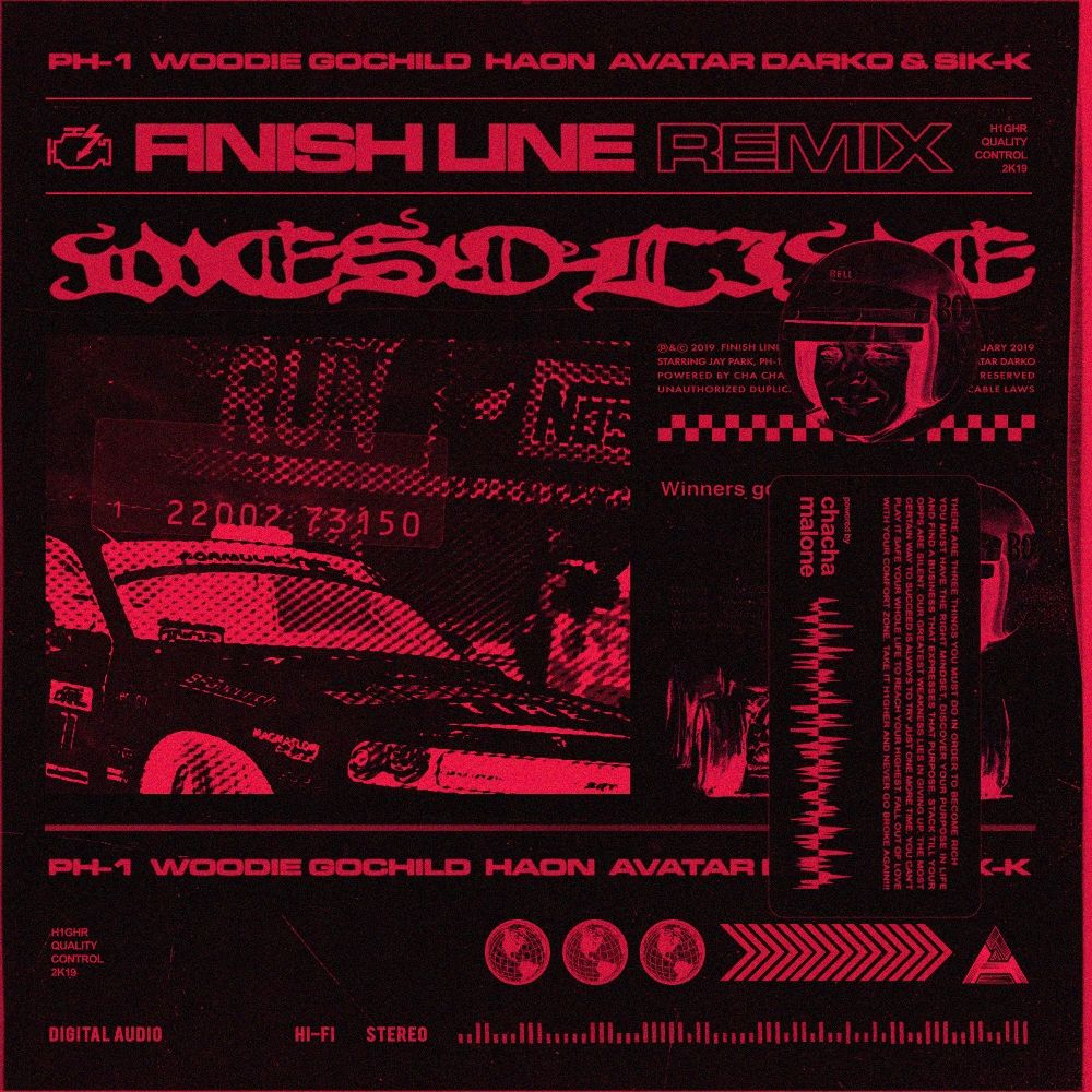 Jay Park – Finish Line (feat. pH-1, Woodie Gochild, HAON, Avatar Darko & Sik-K) [Remix] – Single