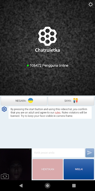 Chatruletka alternatif pengganti OmeTV