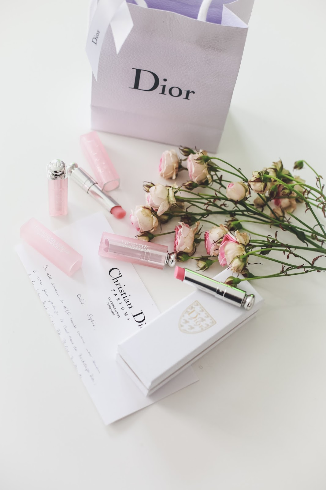 test beauté Dior Lip Sugar Scrub