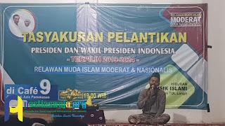 Masyarakat Pamekasan Tasyakuran Pelantikan Jokowi - KH. Ma'ruf Amin
