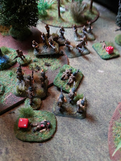 A bayonet charge by the Japanese!