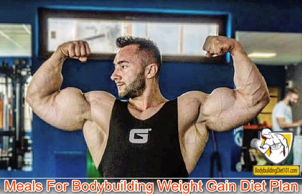 If you want to become a bodybuilder with nominal fats in your body then you should be following the below mentioned bodybuilding weight gain diet plan