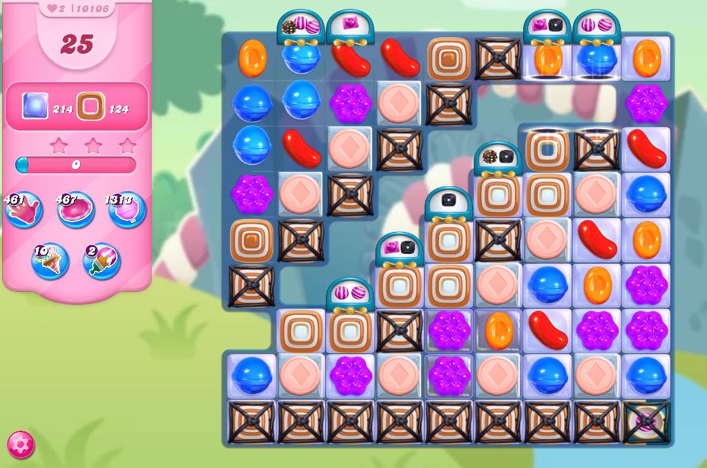 Candy Crush Saga level 10106