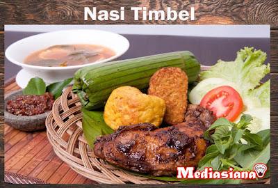 Nasi Timbel khas Sunda
