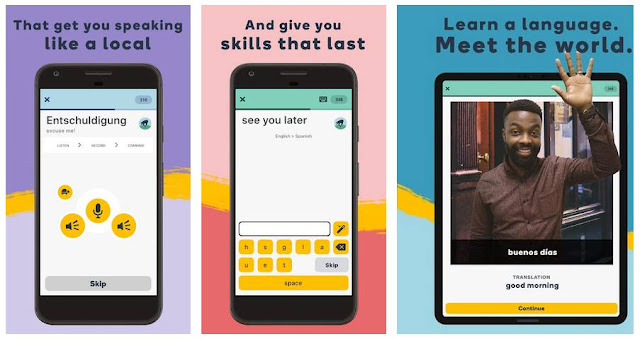Aplikasi Belajar Bahasa Korea - Memrise