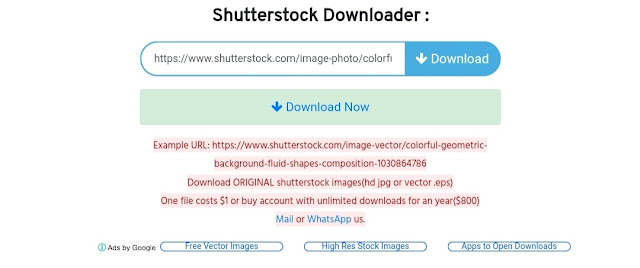Shutterstock image free download