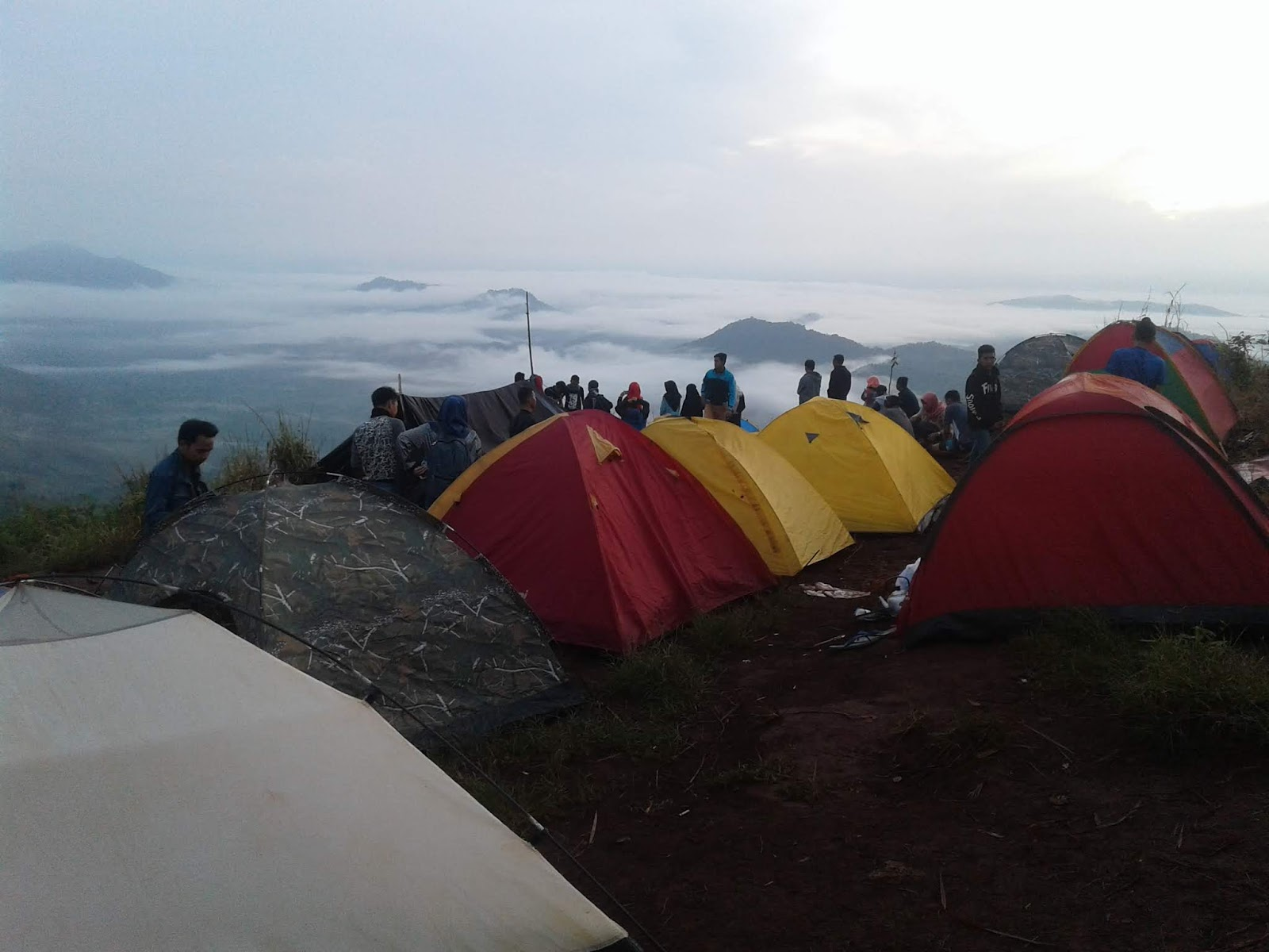 Puncak Tahura Mandiangin Tempat Camping Seru Di Banjarbaru Jangan