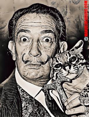 Salvador Felipe Jacinto Dalí i Domènech (Salvador Dalí)