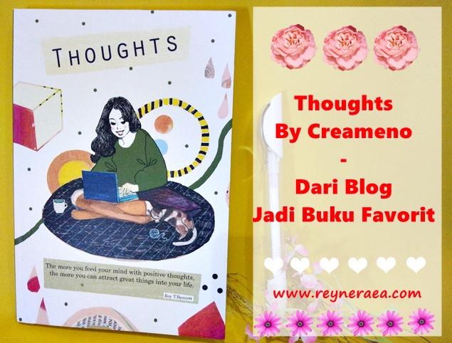 Thoughts By Creameno - Dari Blog Jadi Buku Favorit