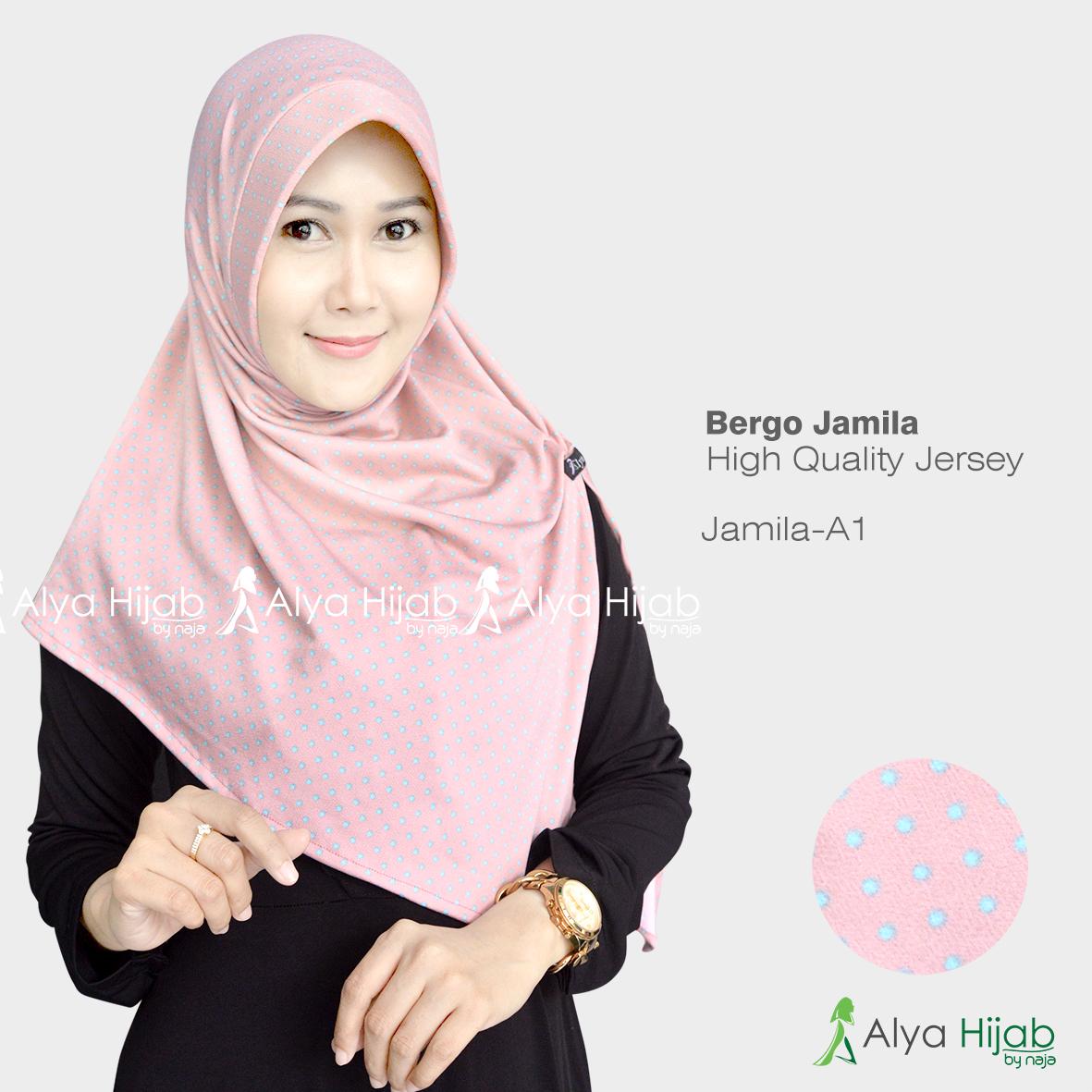 Hijab Bergo Jamila Alya Hijab By Naja Jual Hijab Dan Produsen