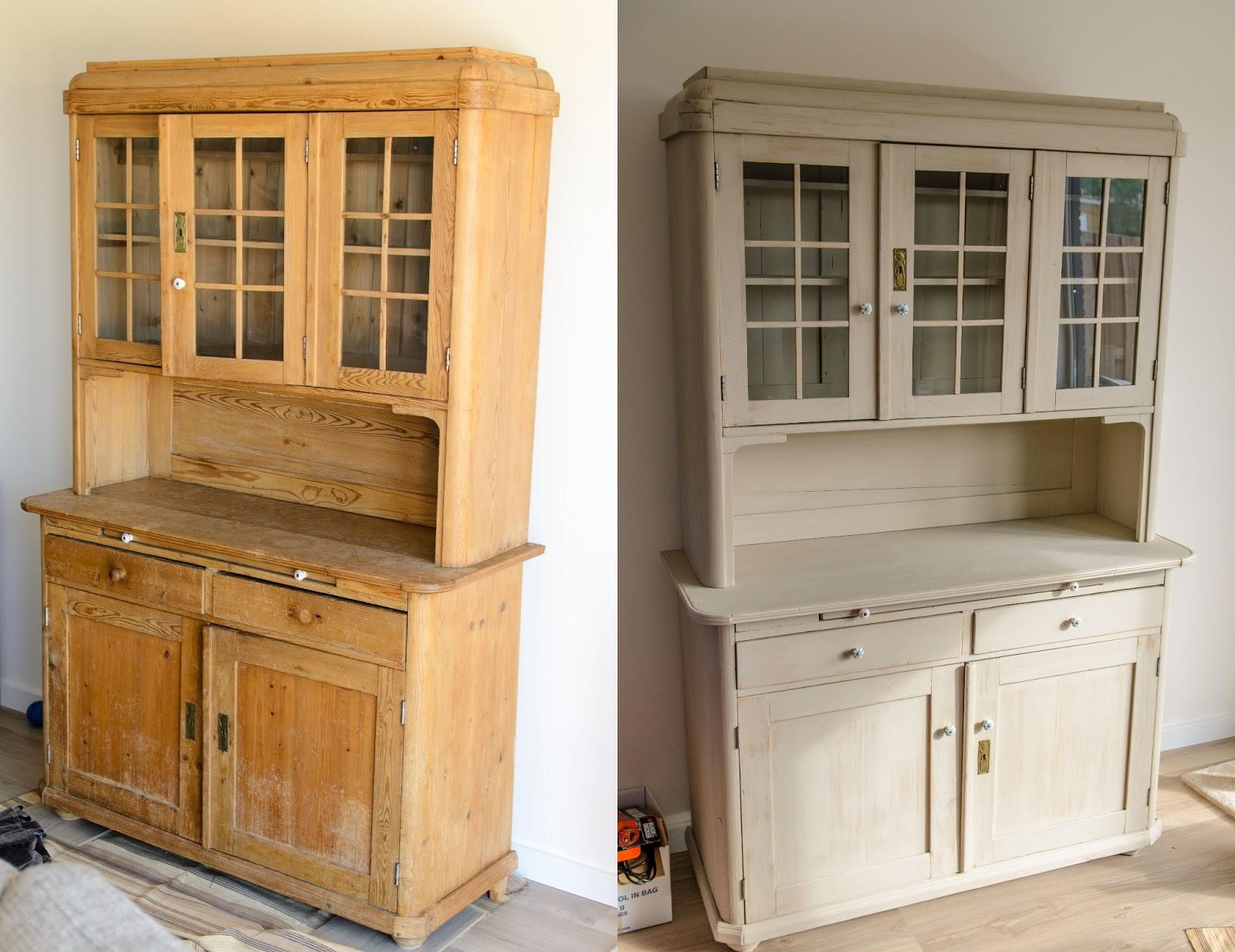 Meubels Wit Verven : Beroemd grenen meubels wit verven az u blessingbox