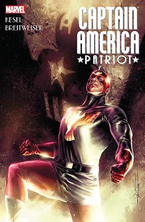 Captain America: Patriot cover