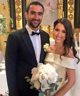 Marin Cilic S Wedding Pic