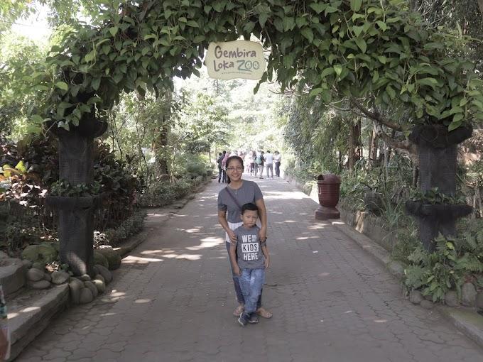 Menghabiskan Liburan ke Gembira Loka Zoo Jogja