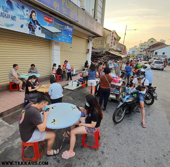 Chulia Street Night Hawker Stalls Penang What to eat
