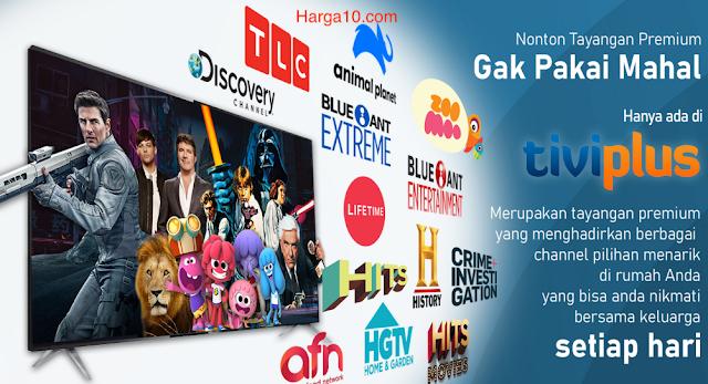 Daftar Harga Promo Paket Ninmedia Tiviplus Terbaru