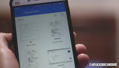 Aplikasi Penyimpanan Data Online di Android