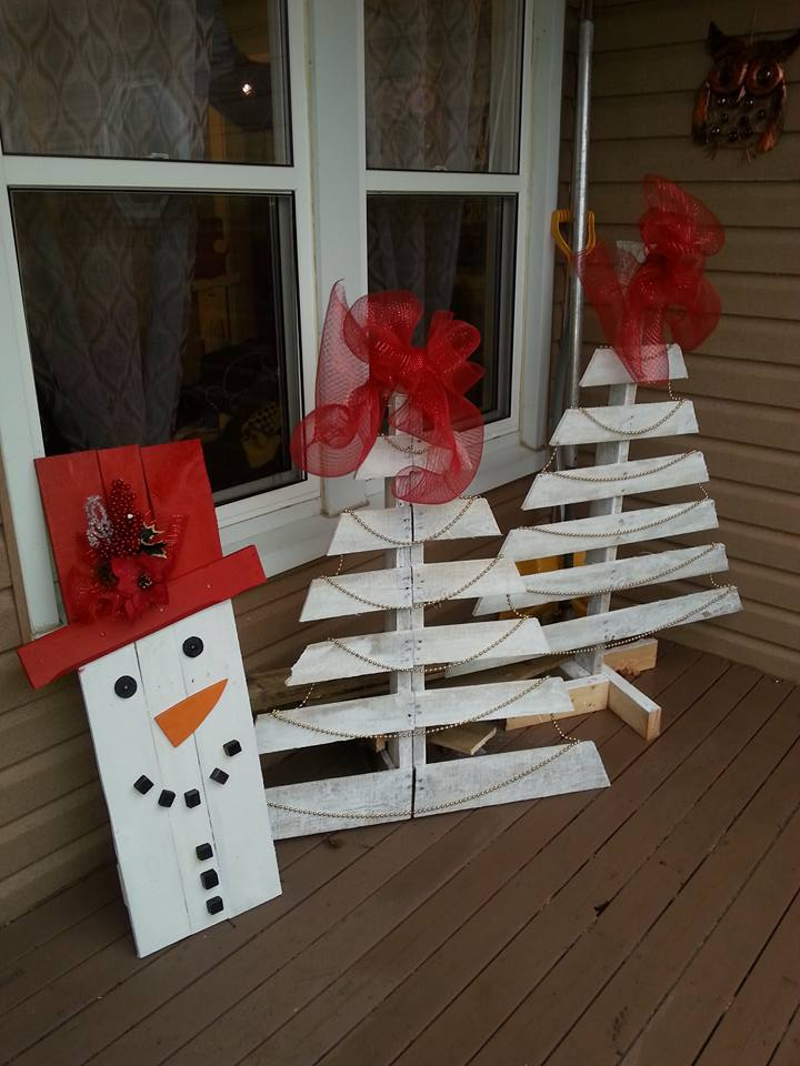 20+ DIY Pallet Tree That to Inspire Your Homes - Pallets ...