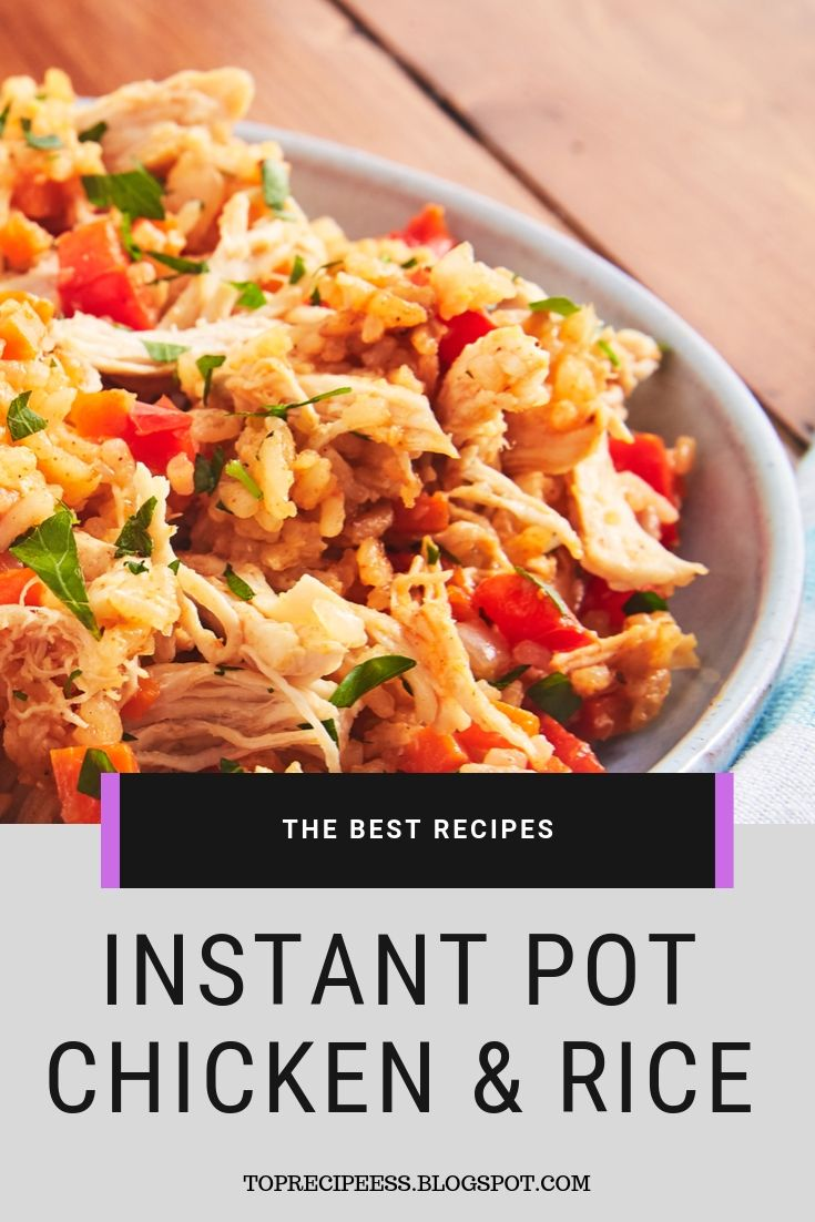 Instant Pot Chicken & Rice | chicken marinade, chicken spaghetti, lemon chicken, teriyaki chicken, chicken potpie, chicken fajitas, ranch chicken, chicken alfredo, fried chicken, chicken tenders, chicken salad, chicken tacos, shredded chicken, slow cooker chicken, bbq chicken, grilled chicken, chicken wings, chicken soup, stuffed chicken, chicken chili, whole chicken, buffalo chicken, chicken coop #chicken alaking #chicken acomfort foods #chickenarice #chickenameals #chickenalowcarb #chickenaglutenfree #chickenarecipe #chickenadishes #chickenahealthy #chickenaeasydinners #chickenaovens #chickenacooking #chickenafamilies #chickenasoysauce #chickenbcrockpot #chickenbeasyrecipes #chickenbdinners #chickenbbbqsauces #chickenblowcarb #chickenbfamilies #chickenccrockpot #chickencoliveoils #chickenclowcarb #chickencglutenfree #chickencdinners #chickencfamilies