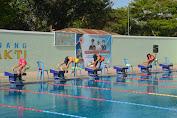 HUT TNI ke 74, TNI Gelar Kejuaraan Lomba Renang Antar Club dan Sekolah Se Lombok