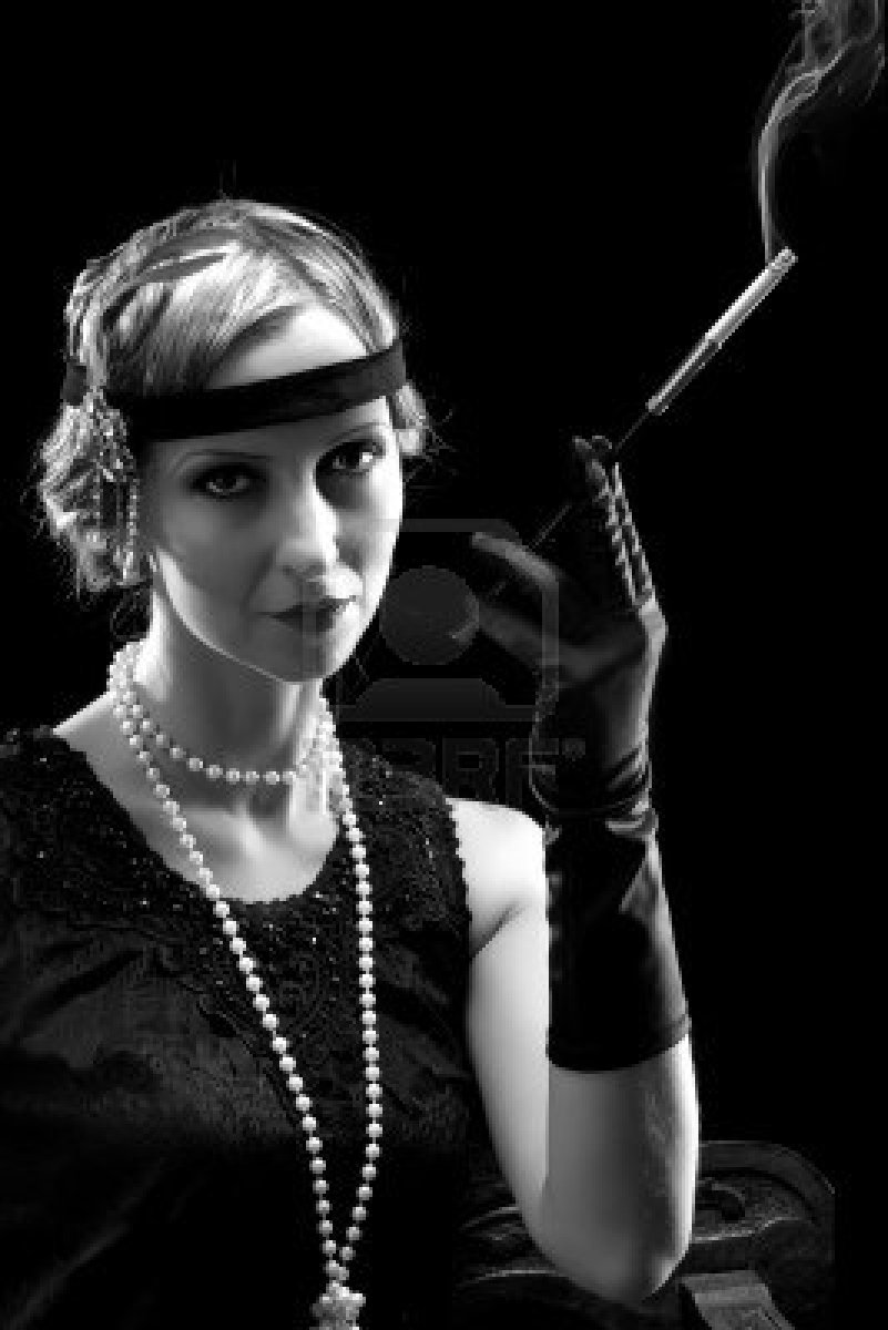 flappers 1920 smoking -#main