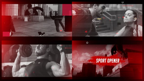 Sport Opener Template : Adobe After Effects