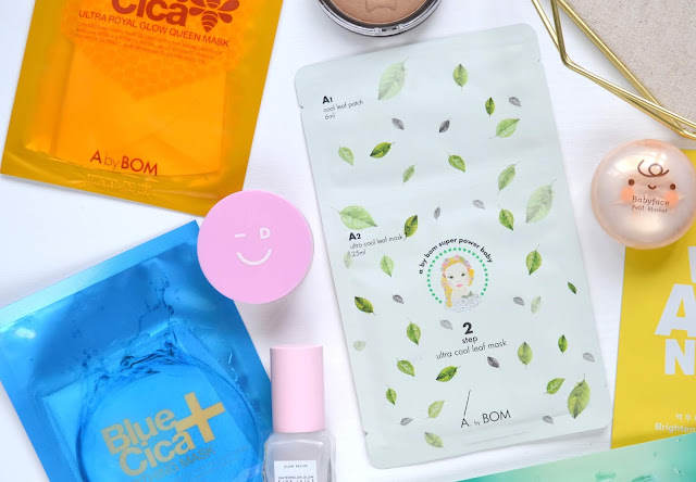 A by BOM Ultra Cool Leaf Mask
