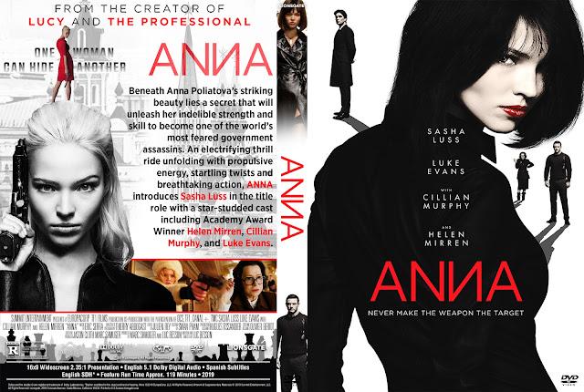 Anna 2019 DVD Cover