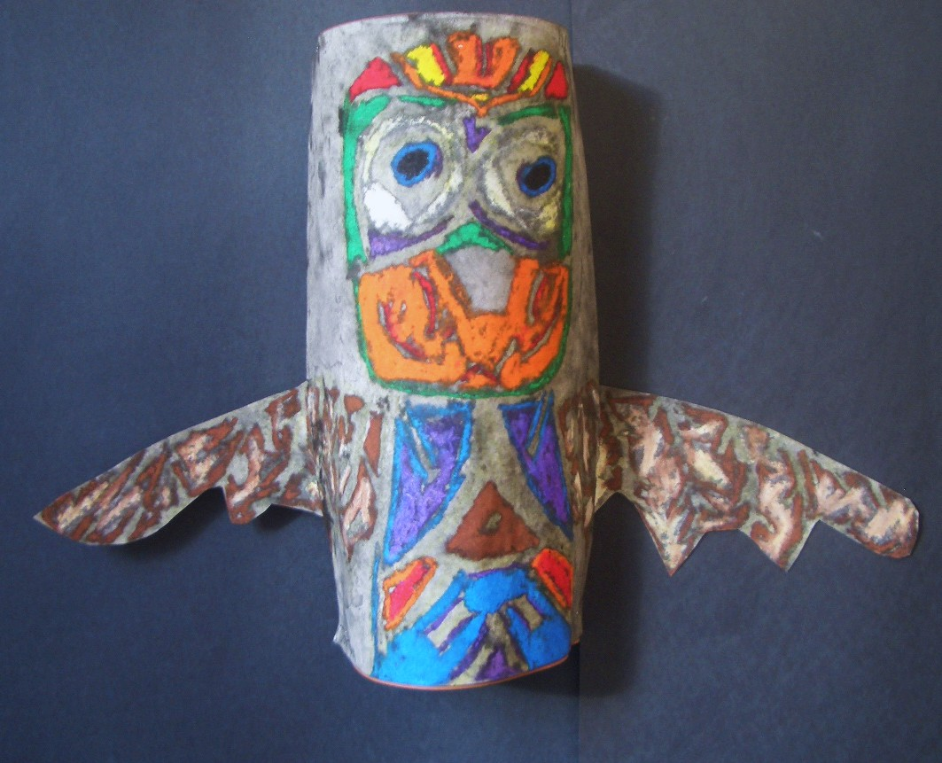 Dream Draw Create Totem Poles Grades 7 Amp 8