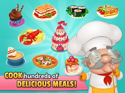 Cafeland World Kitchen Mod Apk Android Terbaru