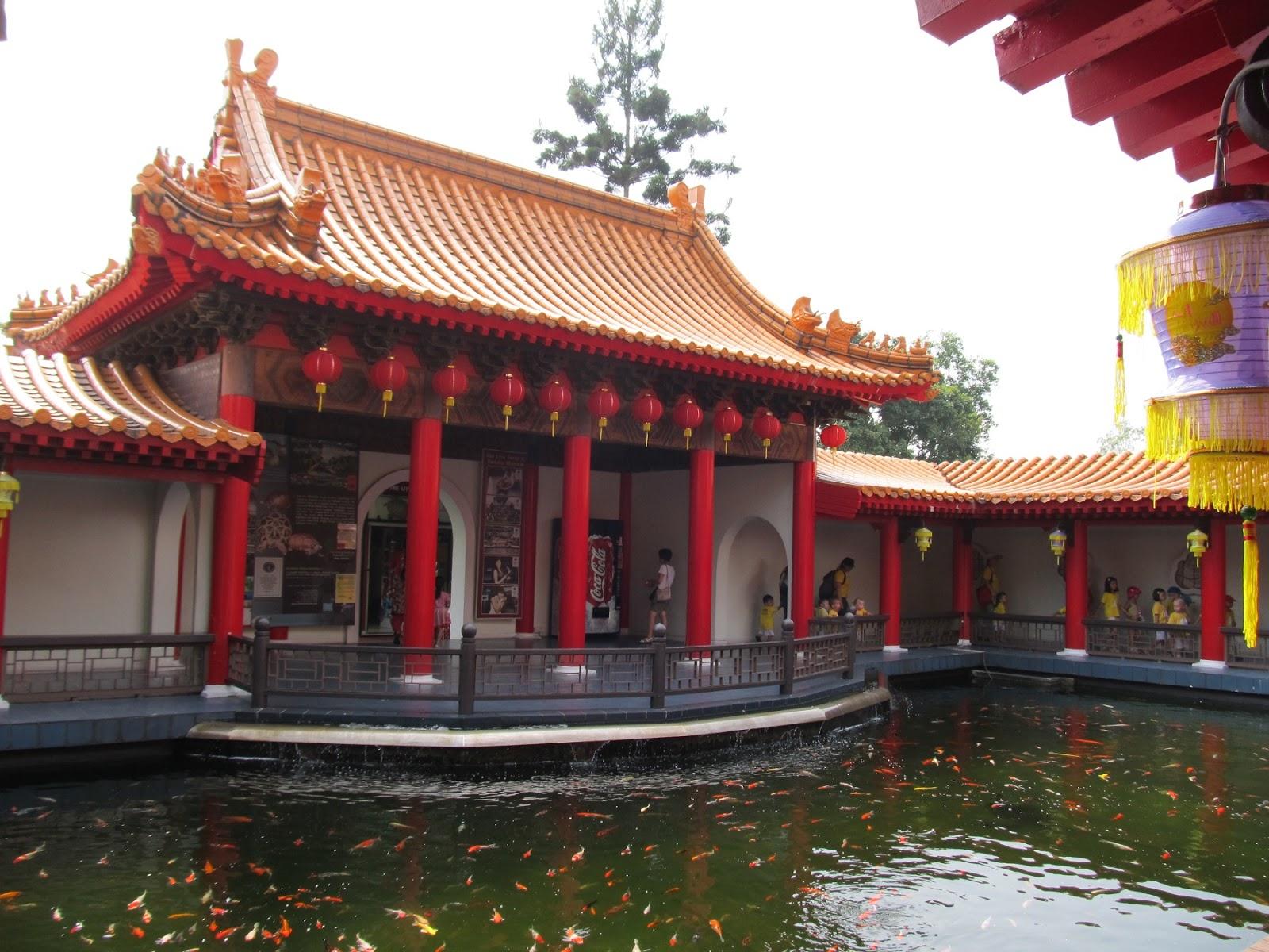 Indian Columbus Chinese Garden Singapore