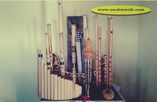 Sejarah Alat Musik Suling Bambu