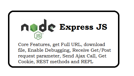 Express JS Interview Questions and Answer for 1 Year Experienced