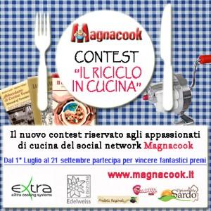 Immagine del logo del Contest di Magnacook: Il riciclo in cucina