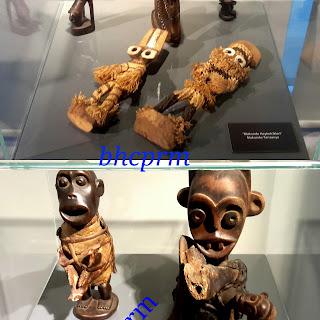 bebek ve fetis heykelleri