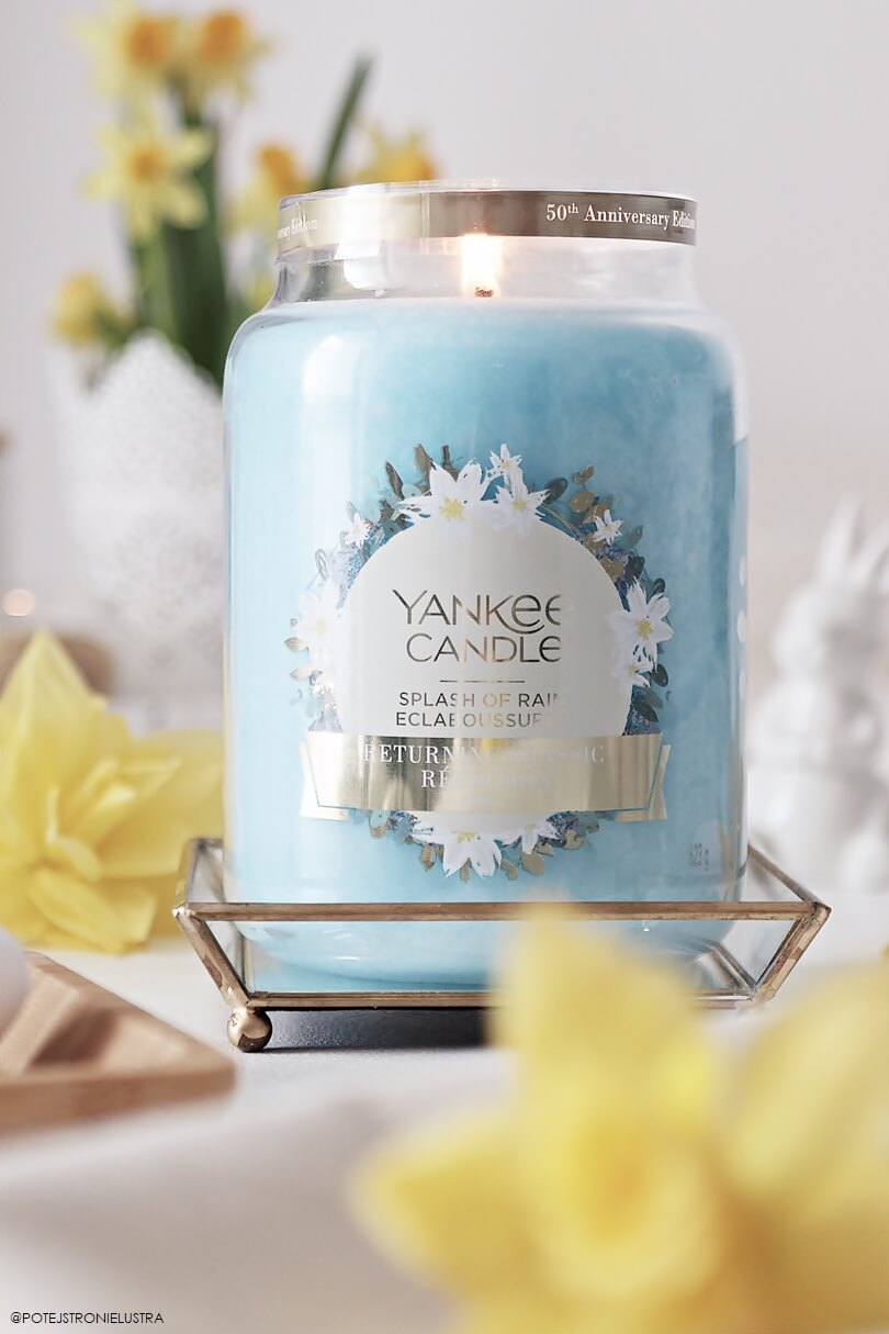 yankee candle splash of rain blog opinia recenzja