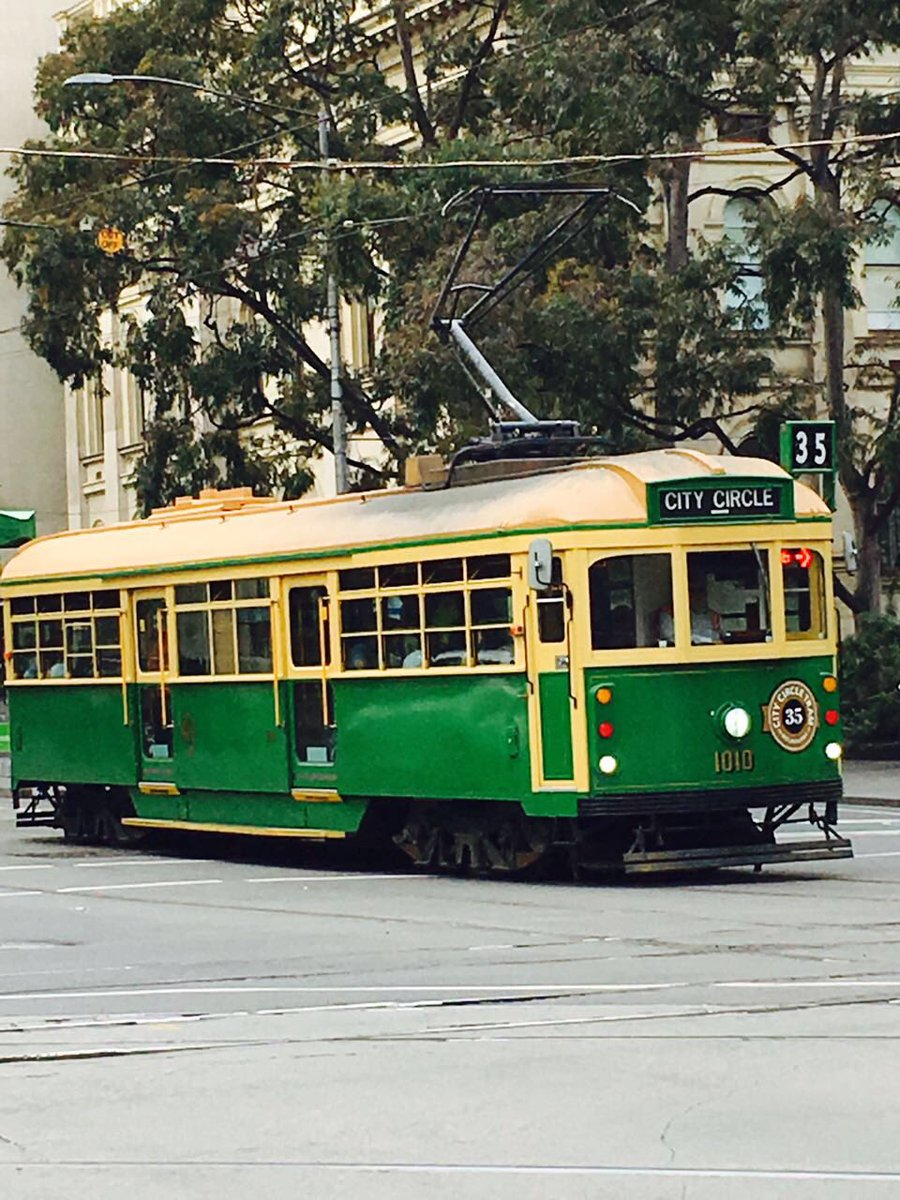 The Old Tram of Melbourne, Australia