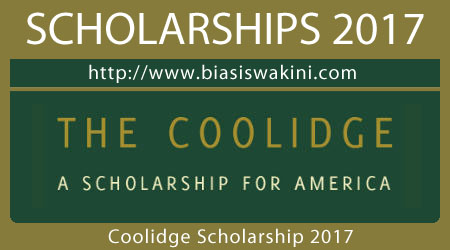 Coolidge Scholarship 2017